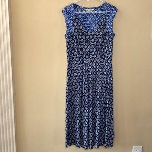 Boden Floral Sleeveless Maxi Dress US 8L